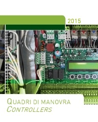 Catalogo quadri di manovra 2015 | Controller catalogue 2015